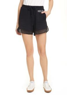 KENZO Sport Mesh Trim Shorts