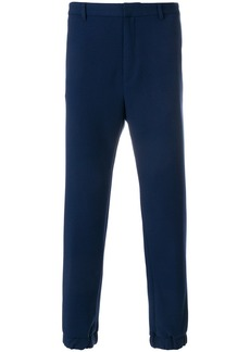 Kenzo Straight-Fit jogging trousers - Blue