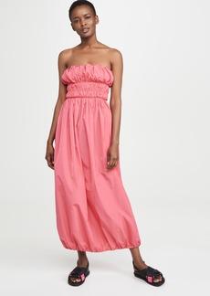 KENZO Strapless Puffy Dress
