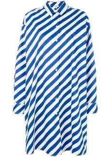 Kenzo striped shirt dress - Blue