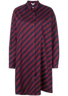 Kenzo striped shirt dress - Pink & Purple