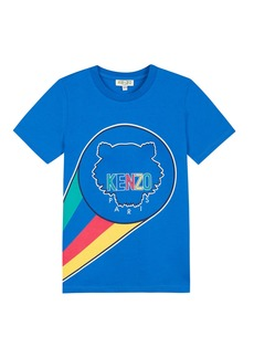 Kenzo Super Here Tiger Graphic Tee  Size 2-6