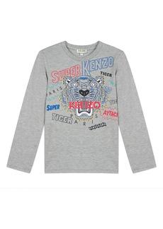 Kenzo Super Heroes Tiger Tee  Size 8-12