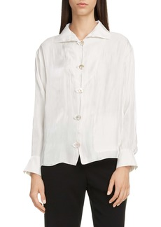 KENZO Tab Button Front Shirt