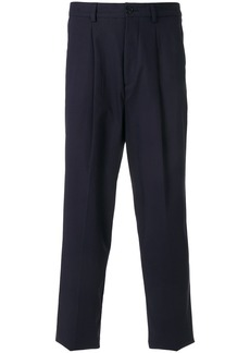 Kenzo tapered straight leg trousers - Blue