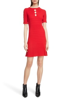 KENZO Textured Knit Dress
