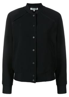Kenzo Tiger back patch bomber jacket - Black