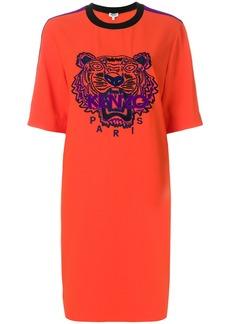 Kenzo Tiger Crepe dress