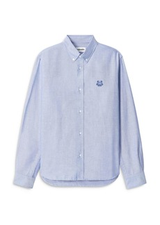 Kenzo Tiger Crest Button Down Shirt
