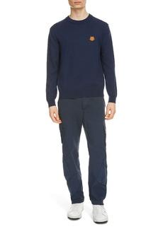 KENZO Tiger Crest Crewneck Wool Sweater