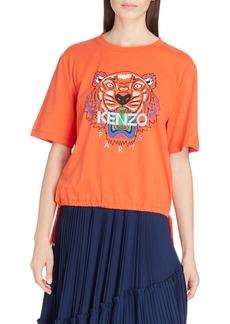 KENZO Tiger Drawstring Graphic Tee