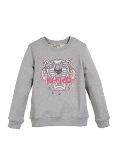 Kenzo Tiger Face Sweatshirt  Sizes 5-6