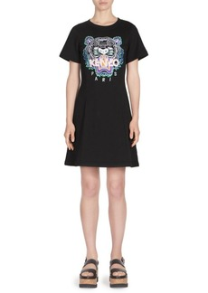 Kenzo Tiger Flare Summer T-Shirt Dress
