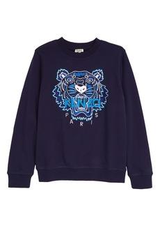 KENZO Tiger Icon Embroidered Sweatshirt (Toddler, Little Boy & Big Boy)