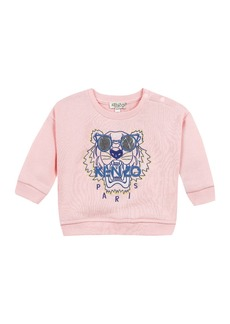 Kenzo Tiger in Sunglasses Embroidered Sweatshirt  Size 12-18 Months