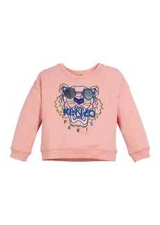 Kenzo Tiger in Sunglasses Embroidered Sweatshirt  Size 2-4