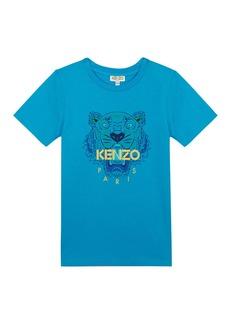 Kenzo Tiger Logo Printed T-Shirt  Size 8-12