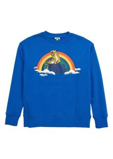 KENZO Tiger Rainbow Logo Graphic Sweatshirt (Toddler, Little Boy & Big Boy)