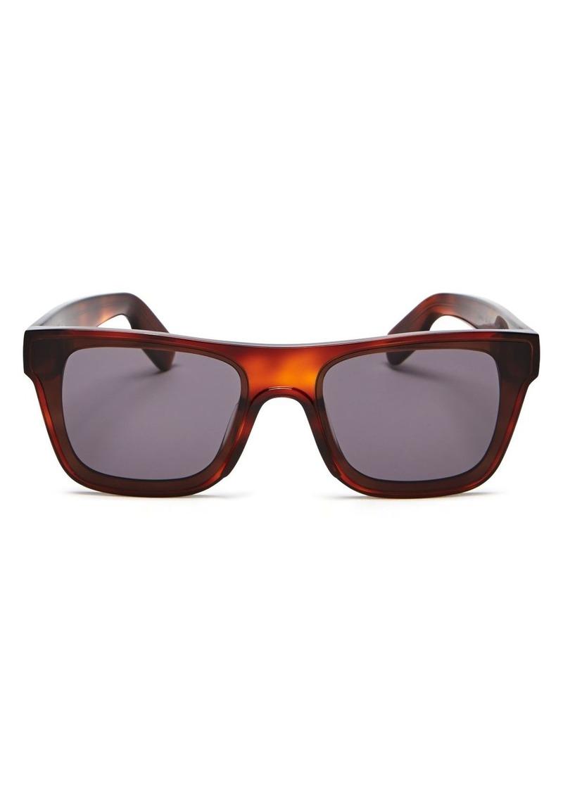 Kenzo Unisex Rectangular Sunglasses, 63mm