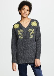 KENZO V Neck Comfort Sweater