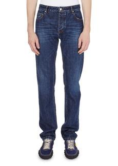 Kenzo Washed Straight-Leg Denim Jeans