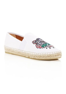 Kenzo Women's City Tiger-Embroidered Espadrille Flats