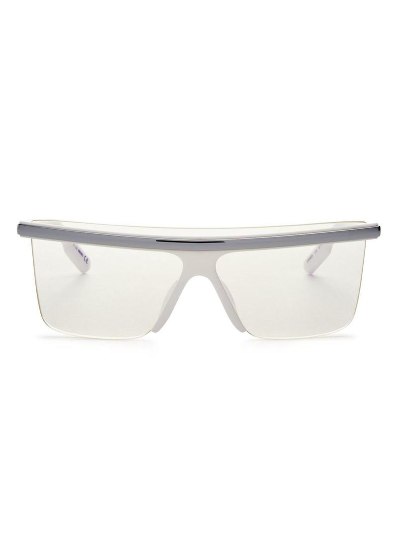 Kenzo Women's Square Shield Sunglasses, 137mm