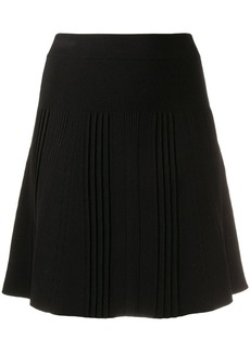 Kenzo knitted A-line skirt