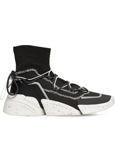 Kenzo Knitted High Top Sneakers