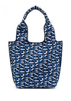 Kenzo knitted logo-pattern tote bag