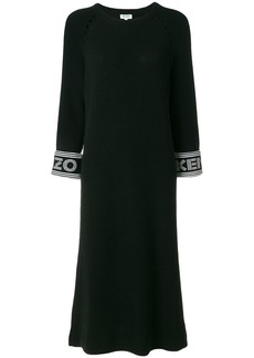 Kenzo knitted midi dress