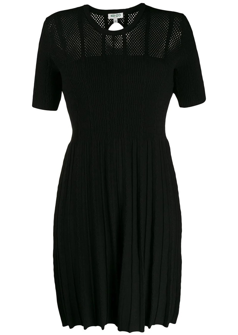 Kenzo knitted short sleeve dress