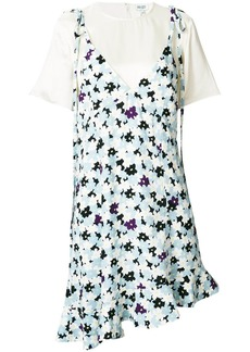 Kenzo layered floral print dress