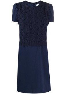Kenzo layered short-sleeved dress