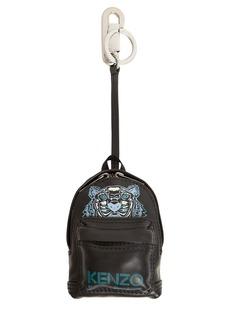 Kenzo Leather Backpack Key Chain