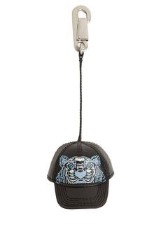 Kenzo Leather Hat Key Chain