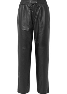 Kenzo Leather Track Pants