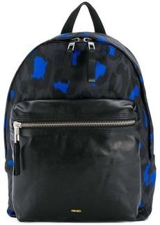 Kenzo leopard print backpack