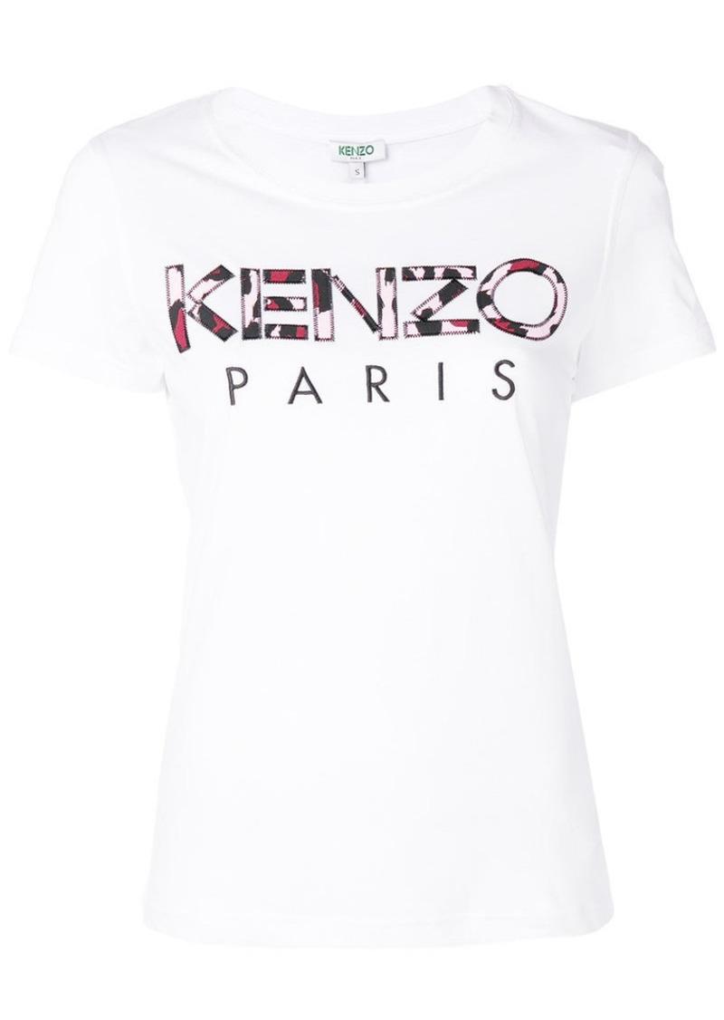 51641d17da87 Kenzo Leopard Print Kenzo Paris T-shirt | Tees