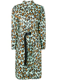 Kenzo leopard printed dress