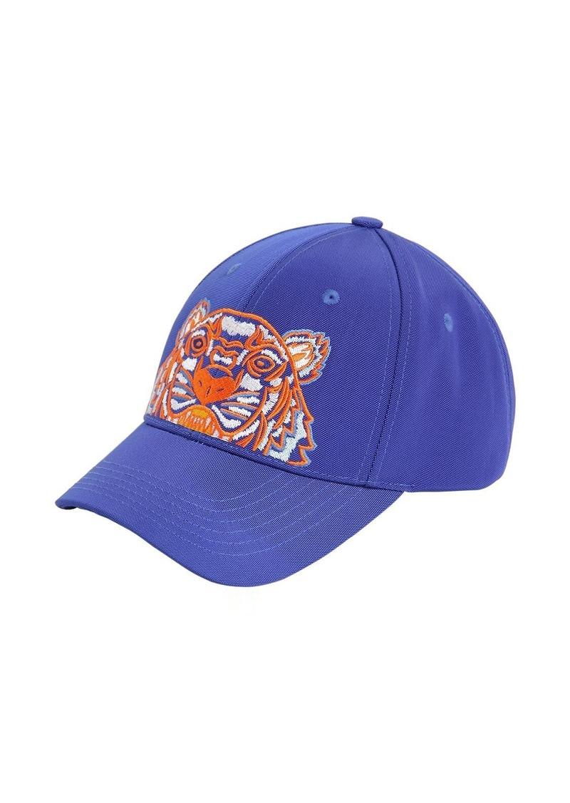 Kenzo Lion Embroidered Nylon Baseball Hat