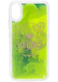 Kenzo Tiger Liquid logo-print iPhone X/XS case