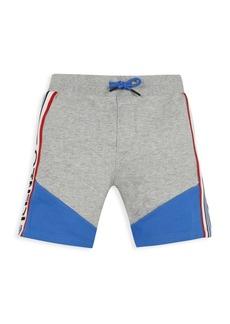 Kenzo Little Boy's & Boy's Colorblock Fleece Shorts