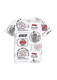 Kenzo Little Boy's & Boy's Multi Icon T-Shirt