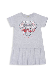 Kenzo Little Girl's & Girl's Elephant T-Shirt Dress