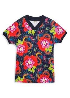 Kenzo Little Girl's & Girl's Floral Cotton T-Shirt