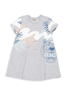 Kenzo Little Girl's & Girl's Loretta Printed T-Shirt Dress