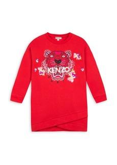 Kenzo Little Girl's & Girl's Tiger Flower Dress