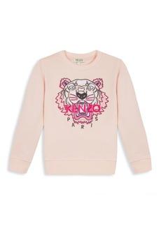 Kenzo Little Girl's & Girl's Tiger Sweatshirt