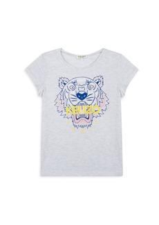 Kenzo Little Girl's & Girl's Tiger T-Shirt